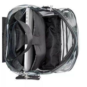 Steve Madden Bags - NWT Steve Madden Amelia Clear Backpack + Id Case